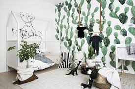 cactus decor in nursery and kids rooms