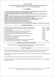 Sap Crm Functional Consultant Resume Sample Resume Layout Com