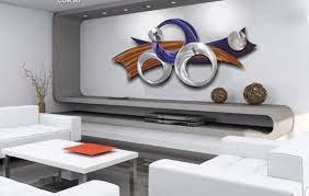 modern metal wall art sculpture design