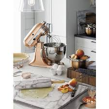 Marble kitchen accessories are useful and beautiful. Image: Crate and Barrel