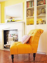 fabulous yellow accent chair my french yellow tufted chair a cultivated nest