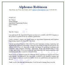 cover letter for engineering job agricultural engineering cover letter business service vepub