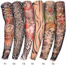Tetovací Rukáv Různé Motivy