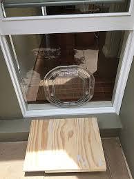 medium dog door for low panel glass door