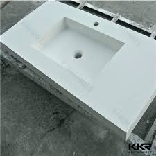 one piece sink and countertop fine decoration bathroom sinks in all plan 38