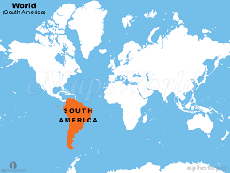 Where Is South America On The World Map Cyndiimenna