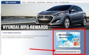 hyundai mpg rewards card balance cardjdi org