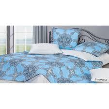 <b>Комплект постельного белья Ecotex</b> евро, сатин, Гармоника ...