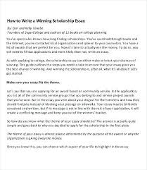 winning scholarship essays examples nursing scholarship program  winning scholarship essays examples winning scholarship essay sample scholarship essay examples pdf