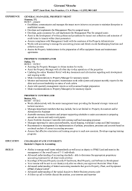 Property Resume Samples Velvet Jobs