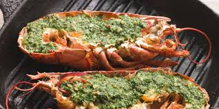 Lobster with Garlic Butter recipe ...