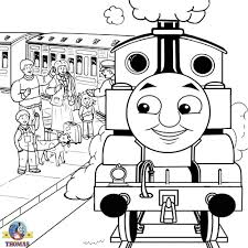 Coloring Pages Photo Thomas Train Colouring Pages Images Thomas The