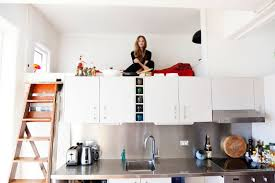 Modern Kitchen And Bedroom How To Mix Kitchen And Bedroom In One Room To Get Efficiency