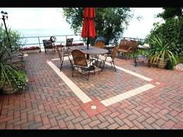 paver patio fire pit designs in ground