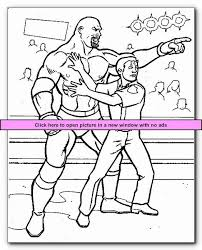 Small Picture Wrestlers 4 Printable Wrestling WWE Coloring Pages Kids