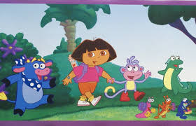 dora the explorer wallpaper borders