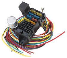8 circuit wiring harness proflow wh8 universal wiring harness kit 8 circuit