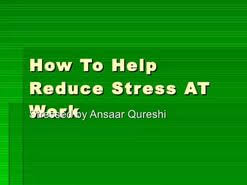 ways to reduce stress essay spm  ways to reduce stress essay spm