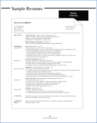 Resume Examples College Student 100 Sample Resume For College Student With No Experience 51