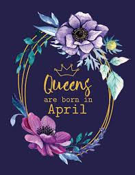 Peony Lane Designs Queens Are Born In April Peony Lane Publishing