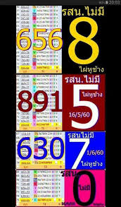 Thai Lotto Chart Route