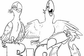 Small Picture Disney Rio Coloring Pages High Resolution Coloring Disney Rio