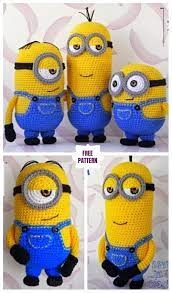 Pin by Marsha Riggs on Make it in 2020 | Minion crochet, Crochet toys free,  Minion crochet patterns