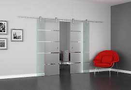 luxurious interior sliding glass doors on full frameless and internal elegant