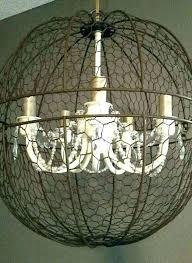 rustic chic chandelier orb for shabby lighting light fixture window pane island