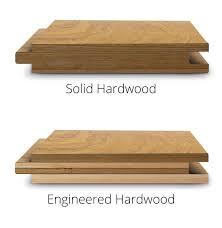 hardwood versus engineered wood flooring
