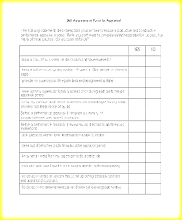 Performance Evaluation Simple Performance Review Template