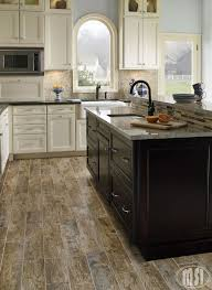 Porcelain Tiles For Kitchen Floors Perfect Kitchen Floor No Need To Worry About Real Wood Floors