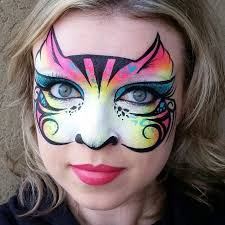 image result for trolls face painting images