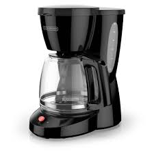 Electric home coffee makers mostly use the drip mechanism. Black Decker 12 Cup Black Residential Drip Coffee Maker In The Coffee Makers Department At Lowes Com