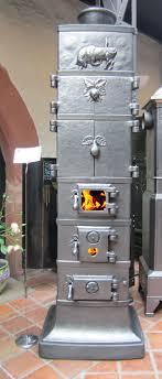 Seltener Ofen Aus Der Rasmussen Hütte Gegossen Um Datiert