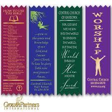 Design Bookmarks Custom Ribbon Bookmarks