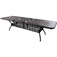 Aluminum Outdoor Dining Table Darlee Florence 11 Piece Cast Aluminum Patio Dining Set With