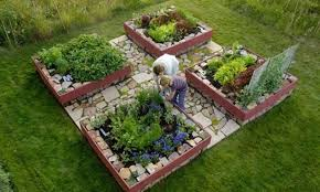 Small Picture Vegetable Garden Design Raised Beds Photos On Brilliant Home