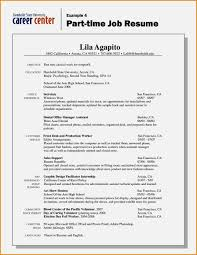 Example First Time Job Resume Criminology Resume Examples For First