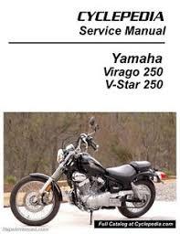 yamaha virago xv250 v star 250 motorcycle service manual image is loading yamaha virago xv250 v star 250 motorcycle service