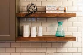 hanging wall wooden shelves