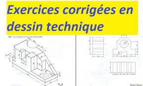 Exemple Dessin Technique Simple L Duilawyerlosangeles Tp De Dessin Technique L