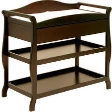 Storkcraft Aspen Changing Table with Drawer Espresso - Walmart.com