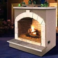 propane outdoor fireplace kits cal flame cultured