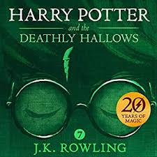 harry potter and the ly hallows book 7 cover art