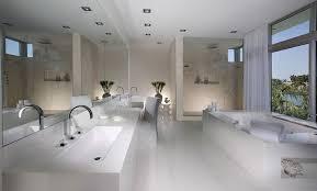 large modern bathroom. Design Big BathroomsWhite Cabana White Large Modern Bathroom I