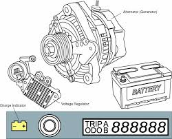the charging system Toyota Alternator Wiring Diagram Pdf Toyota Stereo Wiring Diagram