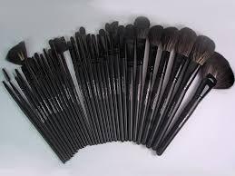 Набор кистей МАС 32 в 1 makeup brushes set clearance black mac