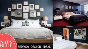 ... Navy Blue Bedroom Design Ideas Tremendous Navy ...