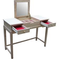 Metal Bedroom Vanity Mirrors Bathroom Silver Metal Vanity Make Up Table And Mirror